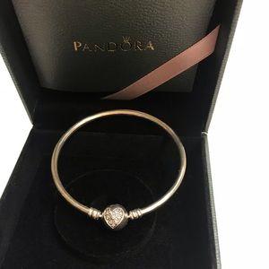 Limited Edition Heart of Winter Pandora Bangle